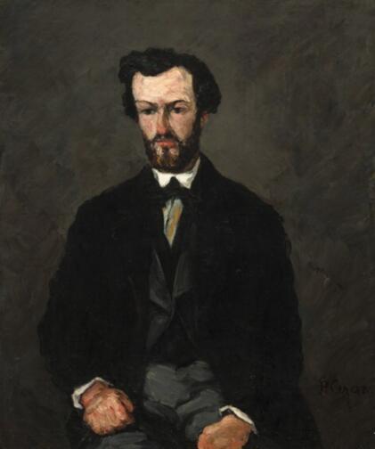塞尚,《安东尼·维拉布瑞格》,1866年