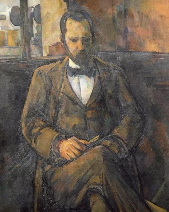 塞尚,《布鲁瓦兹·沃拉尔》,1899年