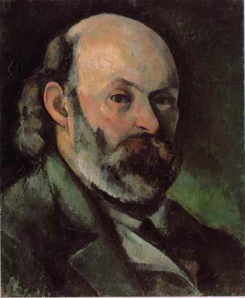 塞尚,《自画像》,约1882年