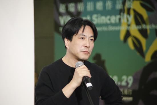 中央美术学院雕塑系第二工作室主任、教授陈科