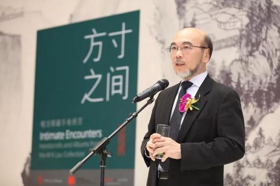 香港梅洁楼藏画联合创办人 罗仲荣先生致辞