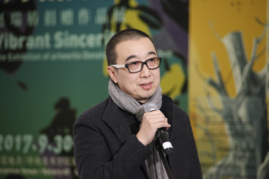 中央美术学院壁画系教授唐晖