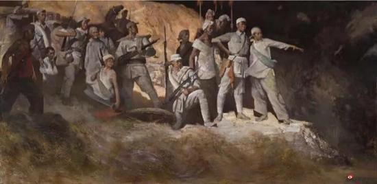 夏葆元作品-《黄河忿》1973年