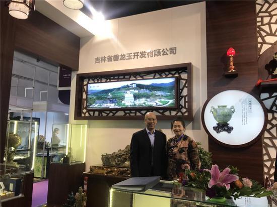 天工奖创始人、北京博观国际拍卖有限公司董事长奥岩先生莅临展区