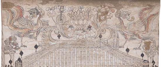 忻州九原岗墓道北壁(局部)