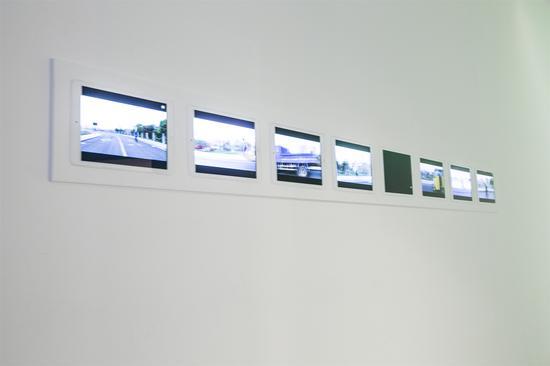 艺术家李明作品《运动》