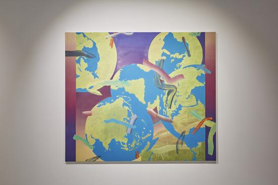 艺术家Gregory Edwards作品《世界之画1》