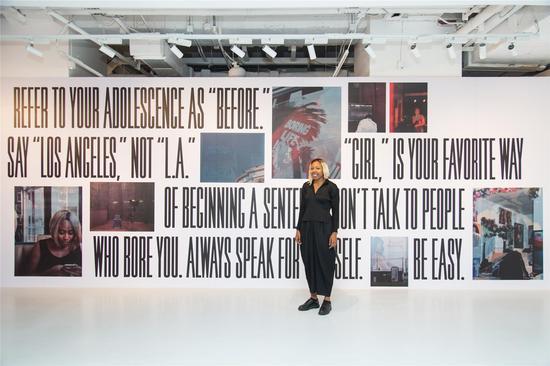 艺术家Martine Syms作品《99个小动作》参加《.com.cn》展览