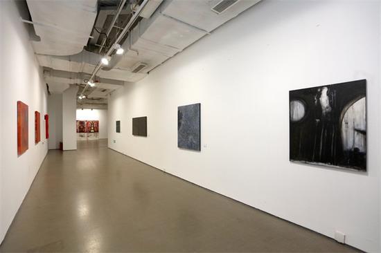 """第一届""""墙势力-墙报艺术家展""""展览现场(2)"""