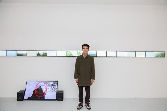艺术家李明作品《直线,风景》参加《.com.cn》展览