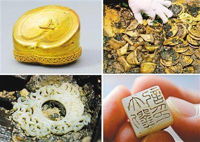 海昏侯墓出土的宝物