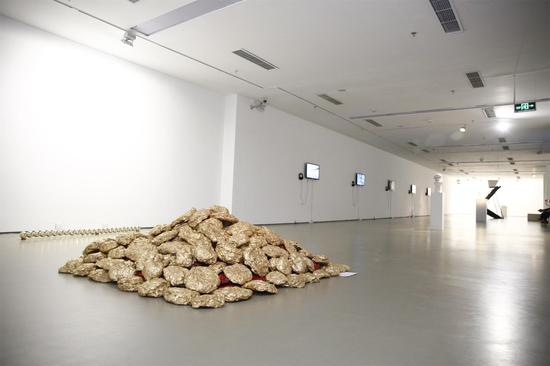 """第一届""""墙势力-墙报艺术家展""""展览现场(3)"""