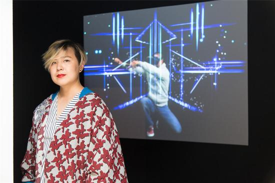 艺术家曹斐作品《派生》参加《.com.cn》展览