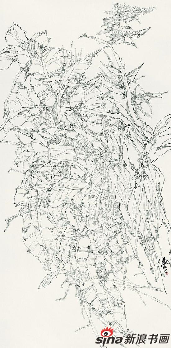 春光图 200x97cm 2000年