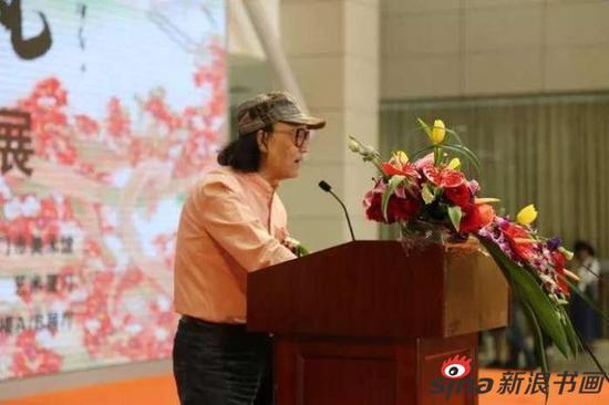中国国家画院研究员石齐先生致辞