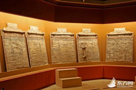 图片说明:盂县皇后村宋金壁画墓。