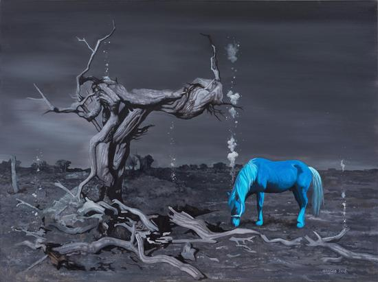 Wu Jian 吴健,And There Was Light #14,就有了光 #14,2017, Mixed media 综合材料,160cm?120cm