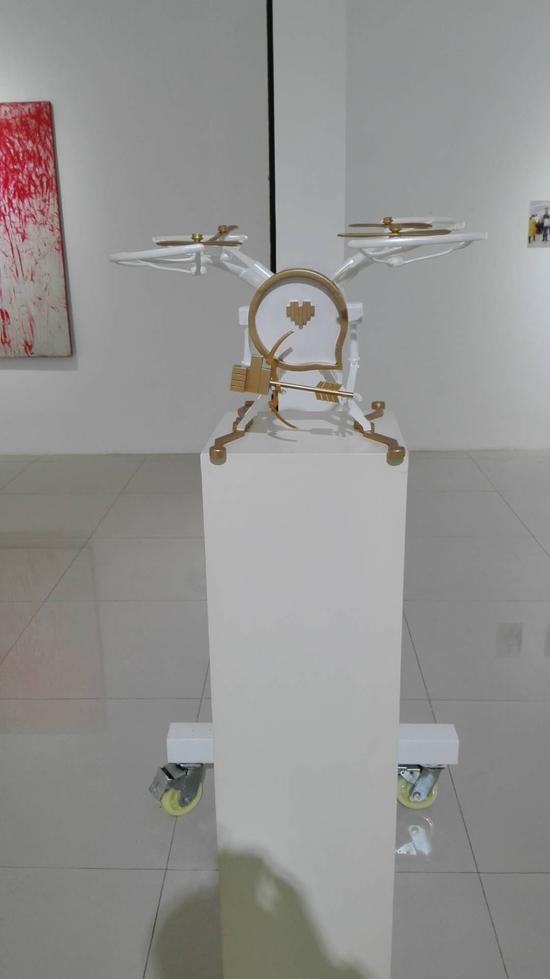邓攀作品(雕塑,3D打印 , 2017)