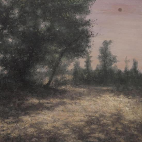 Wu Jian 吴健,Two Suns,两个太阳,2012,Oil on canvas 布面油画,