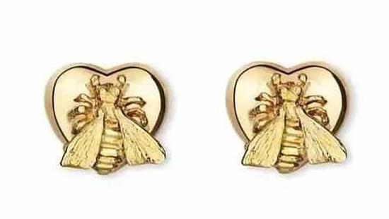 Gucci Le Marche des Merveilles系列,蜜蜂耳钉