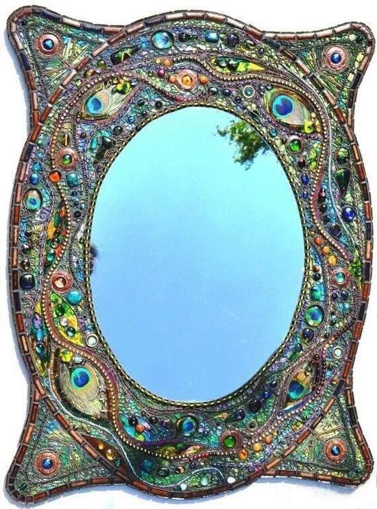 马赛克镜子