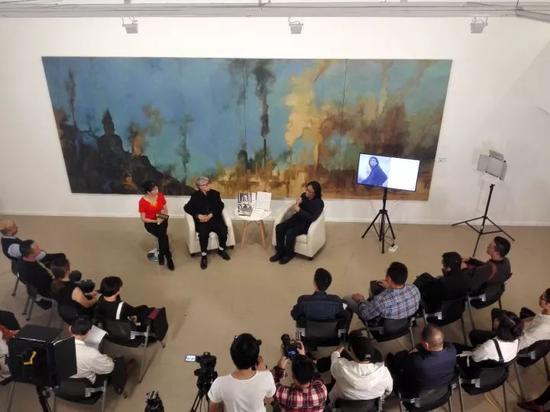 """""""高名潞对话苏新平:被仪式化的真实""""讲座现场"""