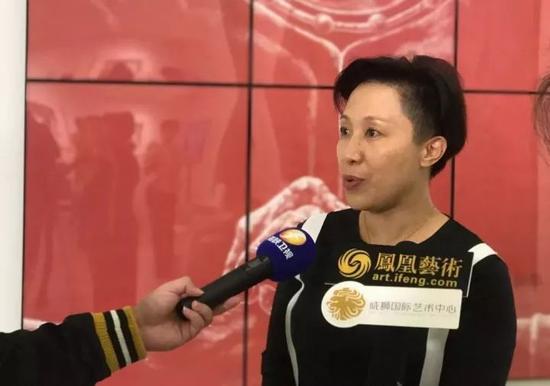 凤凰卫视领客文化CEO黄晓燕接受采访
