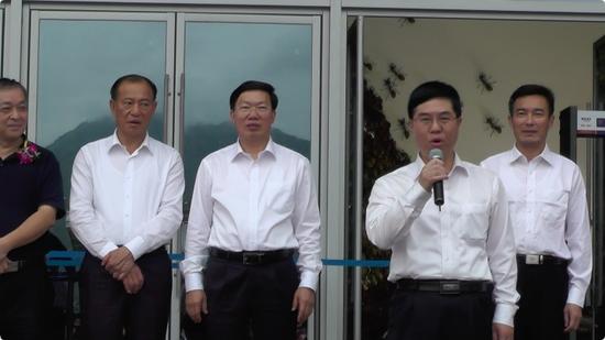 漳州市市长刘远宣布展览正式开幕