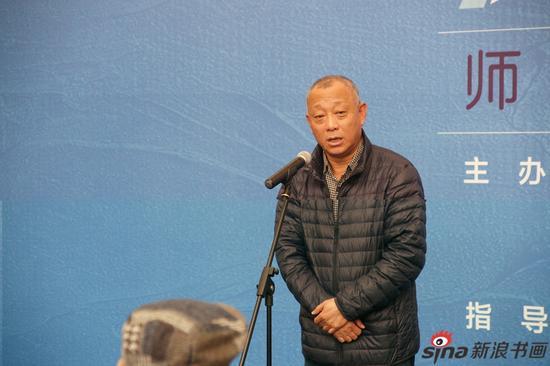上海市美术家协会副主席李向阳致辞