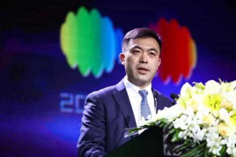 国家对外文化贸易基地副董事长、上海自贸区国际文化投资发展有限公司总经理胡环中致欢迎辞