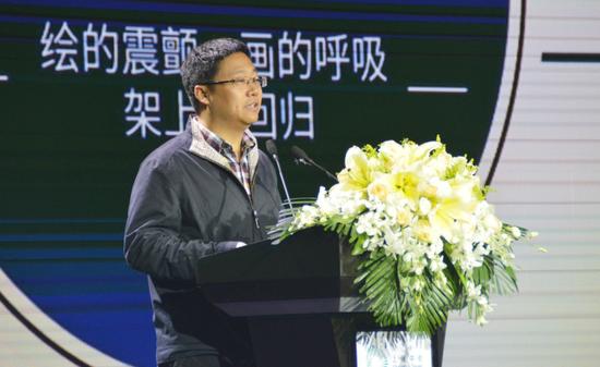中国美术家协会研究部主任冯令刚