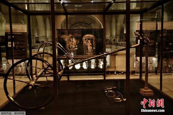 图坦卡蒙战车迁至大埃及博物馆
