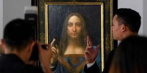 达芬奇画作拍卖 成交价达29.57亿人民币