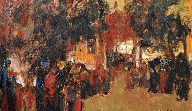 《暖黄》陈和西油画作品展11月25日亮相鸿美术馆