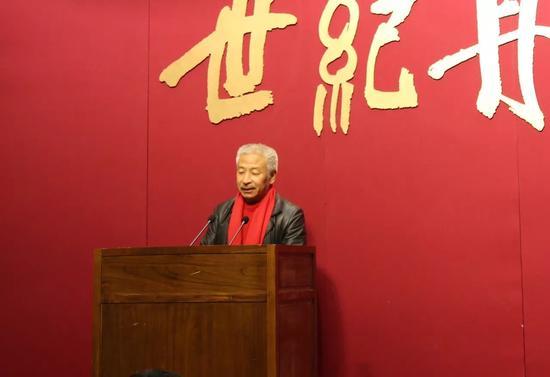 《世纪丹青—吴昌硕·齐白石绘画展》梅墨生先生在开幕式中讲话