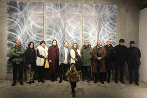 张庭群个展《弧弦》亮相陌上画廊