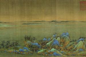 王希孟《千里江山图》:稀世珍宝
