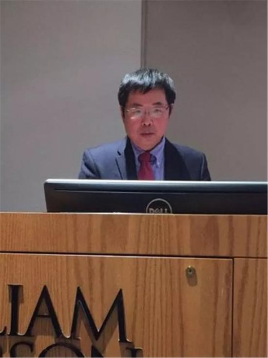 威廉帕特森大学中国艺术中心主任丛志远主持研讨会