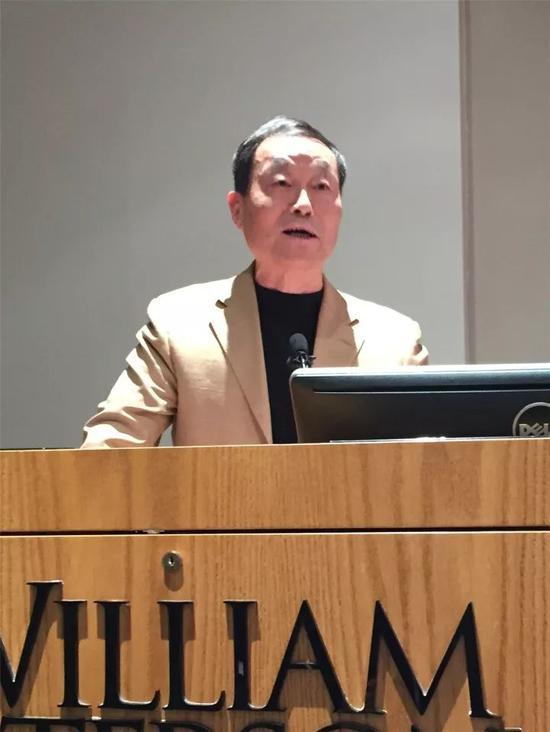 北京师范大学教授孙津在研讨会上发言