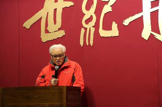 《世纪丹青—吴昌硕·齐白石绘画展》李燕先生在开幕式中讲话