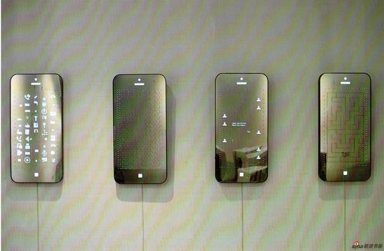 吕旗彰《云上的日子》综合材料 105x50cmx7(4件)