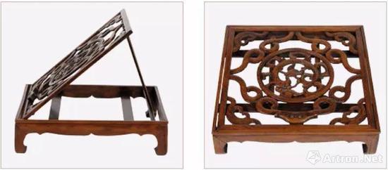 黄花梨宝座式镜台 晚明(1573�C1644) 长45.5 厘米 宽32厘米 高60厘米