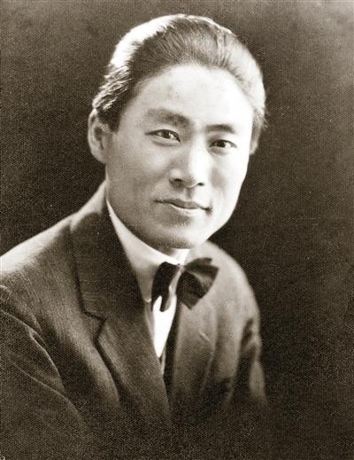 1922年王子云在北京留影