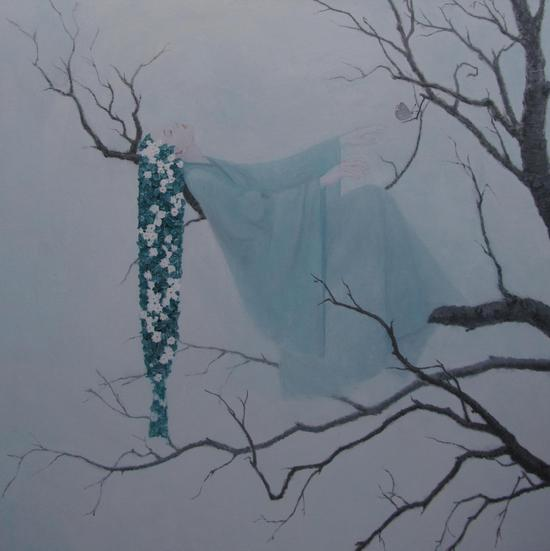 颜小倩-是有木兮木有枝 2-油画-2013-中央美术学院