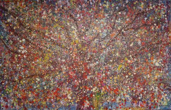 陈诚-Tree-17号-油画-2014-中国美术学院