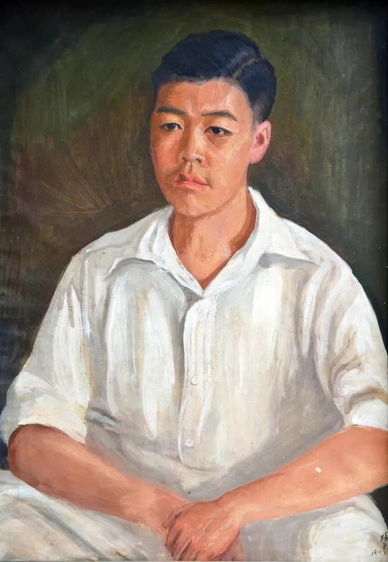 李铁夫 刘思健肖像   成交价:RMB 10,810,000