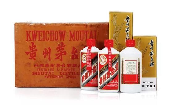 1993年贵州茅台酒(红皮/铁盖/原箱)   1箱(12瓶/ 箱) 375ml   成交价:RMB 310,500