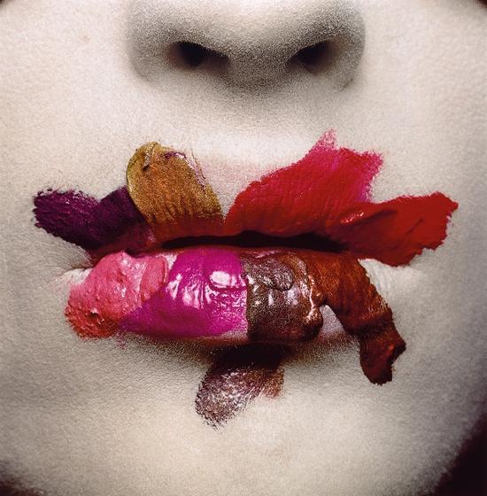 欧文·佩恩为欧莱雅公司拍摄的口红广告,1986