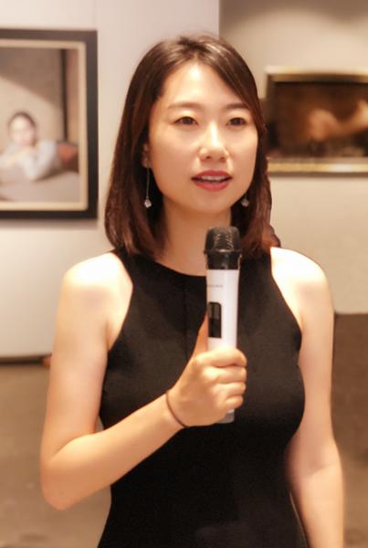 共同艺术中心艺术总监赵轶女士