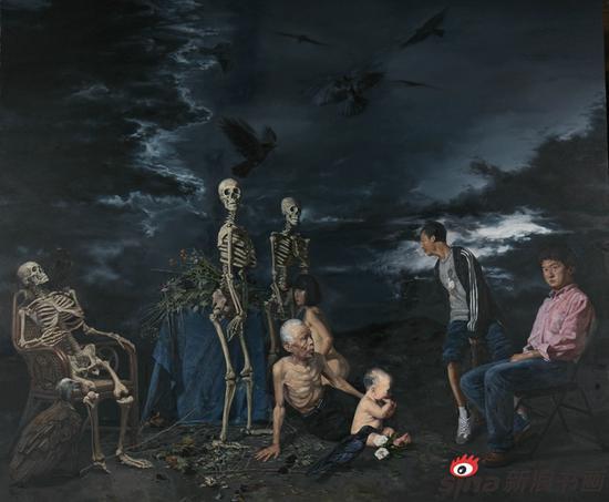 安瑾琳作品《生命》200X170cm 2010